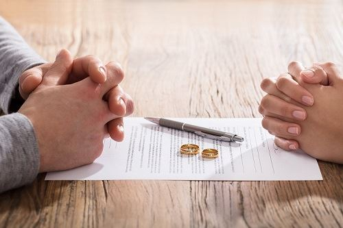 couple file for divorce in Florida